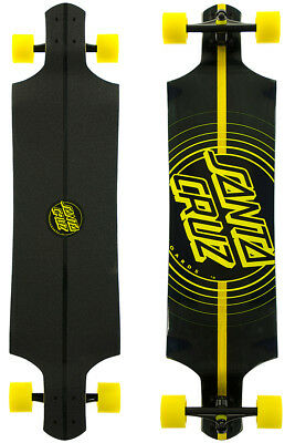 SANTA CRUZ IMPACT DROP DOWN Longboard 2016 Original Komplett Set