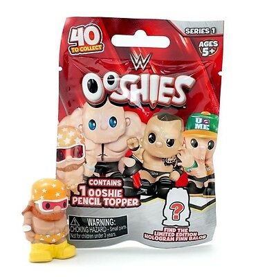 WWE Ooshies Single Blind Bag Wave 1 (One Supplied) - New