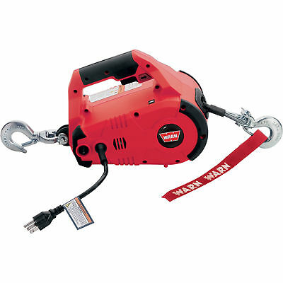 Warn 885000 1000-Lb. 120 Volt Corded Electric Winch