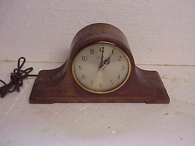 Vintage Herschede Westminster Chime Electric Tambour Clock parts repair B