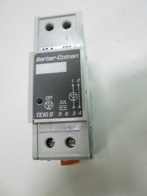 Barber-Colman TE10S Single Phase Solid State Relay Input: 110-230VAC 16 Amp 480V