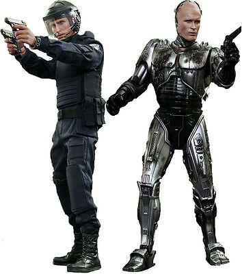 ROBOCOP - Robocop & Alex Murphy 1/6th Scale Action Figure Set (Hot Toys) #NEW