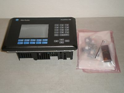 New! Allen Bradley 2711-B6C2X Display Module HMI PanelView 600, 100-240V