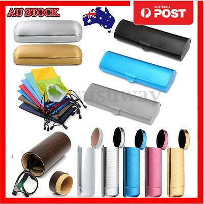 7 Types Matte Hard Metal Spectacles Reading Glasses Protection Eyeglasses Case
