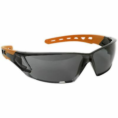 Sealey Safety Spectacals Glasses Wrap Around Lightweight Anti Glare Lens PPE