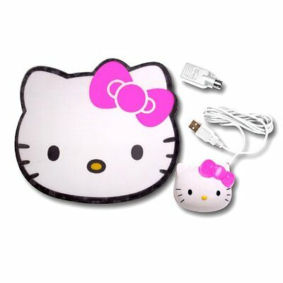 Hello Kitty Optical Mouse with Mouse Pad KT4098