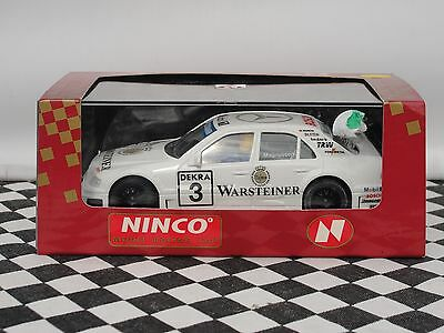 "Ninco Amg Mercedes C ""warsteiner""   #3 White  50157   1:32 New Old Stock Boxed"