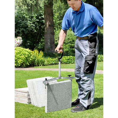 LANGFIT Paving Slab Lifter With Extra-long Handle - Tile Lifter - 62cm - 60kg