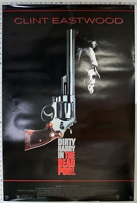 Dead Pool - original movie poster  27x40 - Dirty Harry , Clint Eastwood