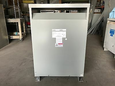 Federal Pacific Fpe Transformer 112.5 Kva Pri 480V Sec 240/120Lt 3 Ph T43T112