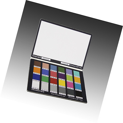 CameraTrax 24ColorCard-3x5 with White Balance and User Guide