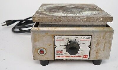 Matheson Scientific HP-A1915B Laboratory Hot Plate 120V 750W Thermolyne