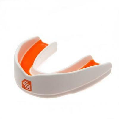 Shock Doctor Ultra Rugby Mouthguard Youths - White / Orange