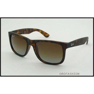 Occhiali sole Ray Ban JUSTIN RB4165 865/T5 54 Polarized