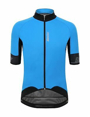 2018 UCI LE CANNIBALE SKULL CYCLING JERSEY in Blue Made in Italy by Santini