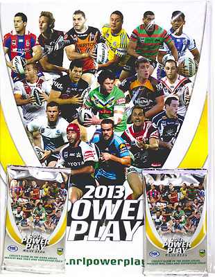 Card Albums--Rugby League - 2013 Power Play Album