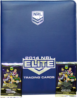 Card Albums--Rugby League - 2014 Elite Album