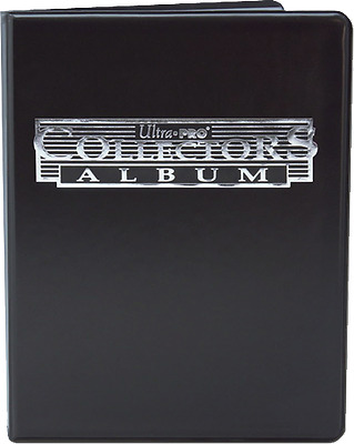 Card Albums--Ultra Pro - 9 Pocket Collector Portfolio Black