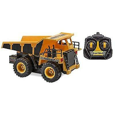 Kid Galaxy Remote Control Dump Truck. 6 Function RC Construction Toy Vehicle, 27