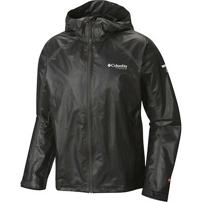 Columbia Outdry Ex Gold Tech Mens Jacket Coat - Black All Sizes