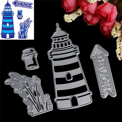 Round Tower Cutting Dies Stencil Scrapbook Card Album Paper Craft Embossing
