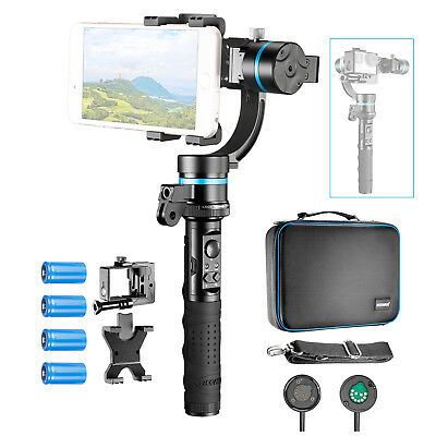 Neewer 3-Axis Handheld Gimbal Stabilizer for iPhone 7 7Plus, GoPro Hero 4 3+
