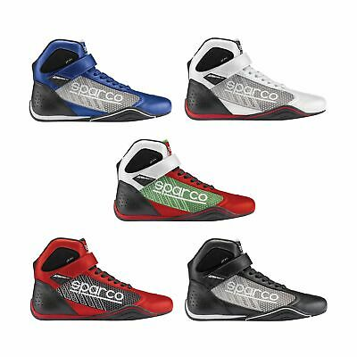 Sparco Omega KB-6 Go-Kart / Karting / Race / Racing / Track Mid-Cut Boots