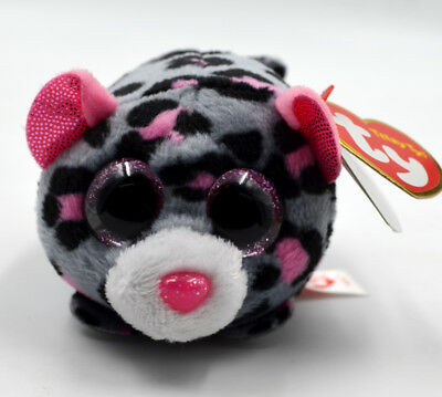 Hot 3.2TY MILES Cute Leopard Animal Plush Stuffed Toys Big Pink Eye Kids Present