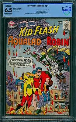 Brave & the Bold # 54  First app. of the Teen Titans  !  CBCS 6.5 scarce book !