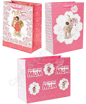 Boofle Mum Mother's Day Birthday Present Gift Bag & Tag