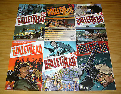 Bullet to the Head #1-6 VF/NM complete series - dynamite comics - matz 2 3 4 5