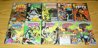 Freex #1-18 VF/NM complete series + giant-size + silver foil variant - malibu