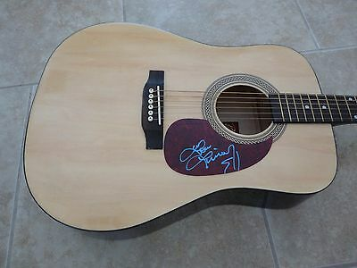 Lindsay Ell Sexy Signed Autographed Acoustic Guitar PSA Guaranteed