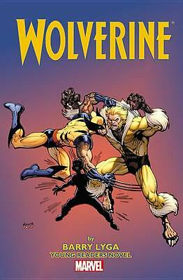 Wolverine Young Readers Novel (Young Readers Novels), Barry Lyga, New Book