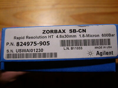 HPLC Säule Cartridge Agilent Zorbax SB-CN 4,6 x 30 mm 1,8 µ 824975-905