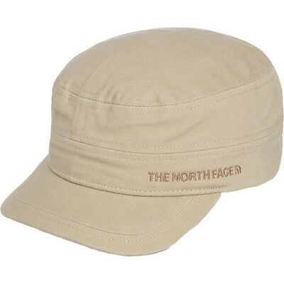 North Face Logo Military Mens Headwear Cap - Dune Beige All Sizes