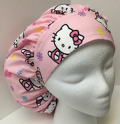 Hello Kitty size: Large Medical Bouffant OR Scrub Cap Surgery Hat