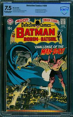 Detective Comics # 400 - first Man-Bat Neal Adams art !   CBCS 7.5 scarce book !