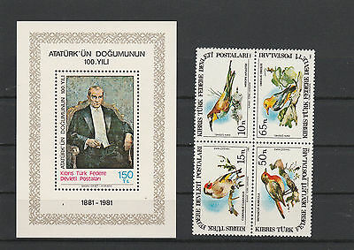 Turkey mint never hinged Postage stamps Los Right 3007