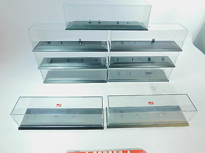 AV18-3# 9x Herpa H0 Display cabinet for Lorry/Trailer TRUCK/Roadtrain/truck,