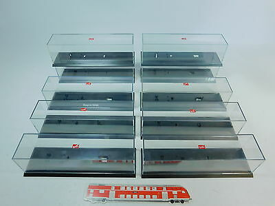AV27-3# 10x Herpa H0 Display cabinet; good 2.Wahl; for Lorry/Trailer truck/