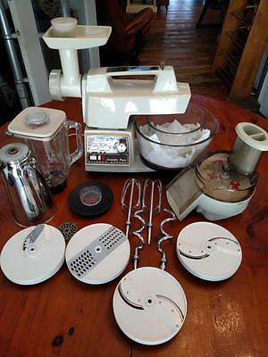 Oster Regency ~ Kitchen Center ~ Controlled Power ~ Food Processor & More