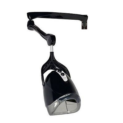 Comair Drying hood Egg black with Wall arm