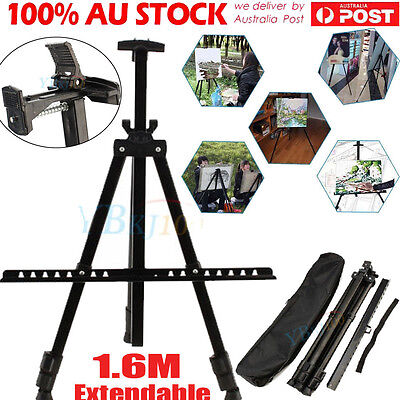 Adjustable Stand Tripod Easel Display Drawing Board Art Artist Sketch Painting D