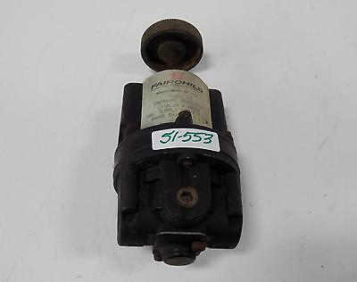 Fairchild Pneumatic Precision Regulator  10282