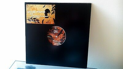 "VAL - Lyrical Soldier 12"" (SUN RARE RECORDS SR-003) JAPAN 2006 HIP-HOP"