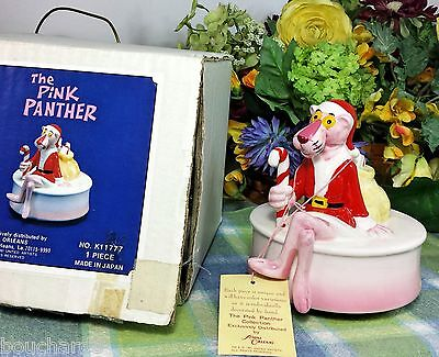 Pink Panther Musical Music box Pink Panther Santa Christmas Musical