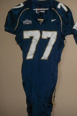 Byu Brigham Young  Game Used  Football Jersey