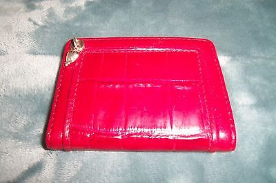 Brighton Red Color Credit Card Holder