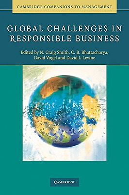 Global Challenges in Responsible Business (Cambridge Co - Paperback NEW  2010-07